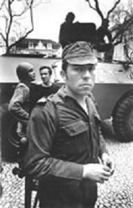 fotografia de Salgueiro Maia, 25 de Abril de 1974