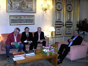 fotografia da reunião do NAM na CML em 30 de Outubro de 2007