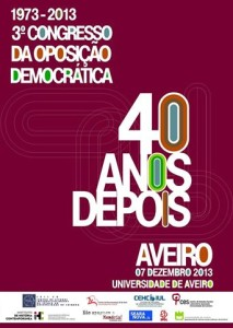 Cartaz da iniciativa em Aveiro