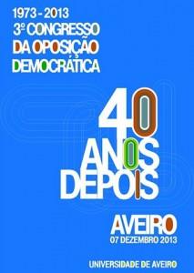 Cartaz da iniciativa em Aveiro II